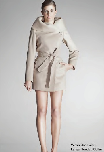 beige wrap coat - HERCASTLEGIRLS