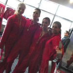 All smiles before The EdgeWalk