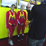 After The Edgewalk Farahri & Lisa did interviews
