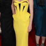 Loved this look by Versace on January Jones at the MET Gala 2012 last night.