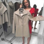 Sentaler Bojana Sentaler shows off one of her alpaca coats. Soft & light!