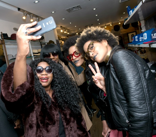 Coco and breezy, selfie, eye wear, brimz, toronto, new york