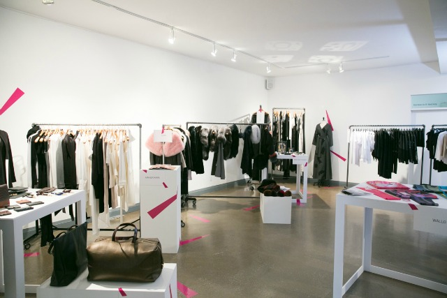 pop-up shop, toronto, montreal, fashion industry